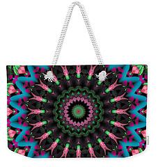 Mandala 35 Weekender Tote Bag by Terry Reynoldson