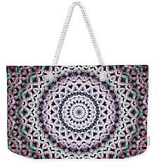 Mandala 38 Weekender Tote Bag by Terry Reynoldson