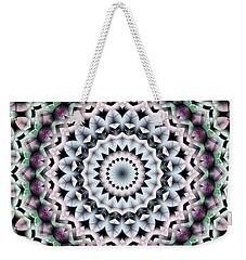 Mandala 40 Weekender Tote Bag by Terry Reynoldson