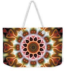 Mandala 67 Weekender Tote Bag by Terry Reynoldson
