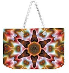 Mandala 68 Weekender Tote Bag by Terry Reynoldson