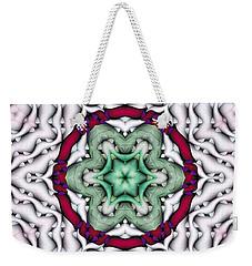 Mandala 7 Weekender Tote Bag by Terry Reynoldson