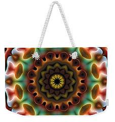 Mandala 74 Weekender Tote Bag by Terry Reynoldson
