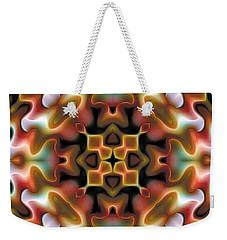 Mandala 76 Weekender Tote Bag by Terry Reynoldson