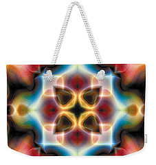 Mandala 77 Weekender Tote Bag by Terry Reynoldson