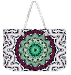 Mandala 8 Weekender Tote Bag by Terry Reynoldson