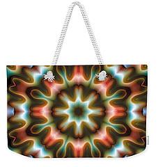 Mandala 80 Weekender Tote Bag by Terry Reynoldson