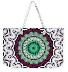 Mandala 9 Weekender Tote Bag by Terry Reynoldson