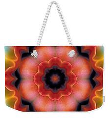 Mandala 91 Weekender Tote Bag by Terry Reynoldson