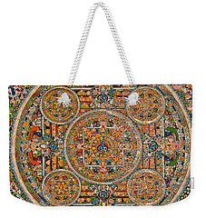 Mandala Of Heruka In Yab Yum And Buddhas Weekender Tote Bag