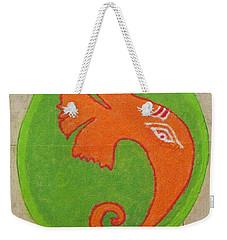 Mangalmurti Moraya Weekender Tote Bag by Sonali Gangane