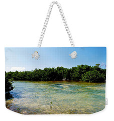 Weekender Tote Bag featuring the photograph Mangrove @ Safehaven Sound by Amar Sheow