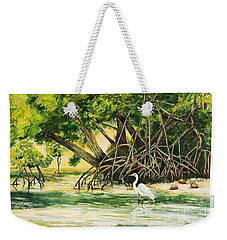 Mangrove Morning Weekender Tote Bag