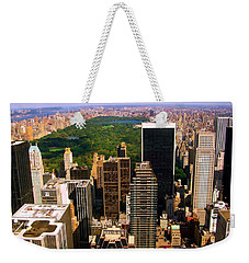 Manhattan And Central Park Weekender Tote Bag