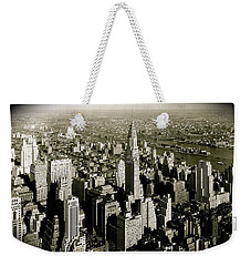 Manhattan And Chrysler Building II Weekender Tote Bag