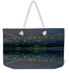 Manhattan Bridge New York Weekender Tote Bag