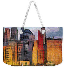 Beautiful City Manhattan Digital Painting Weekender Tote Bag