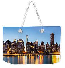 Manhattan Panorama And Queensboro Bridge Weekender Tote Bag