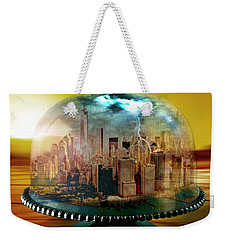 Manhattan Under The Dome Weekender Tote Bag