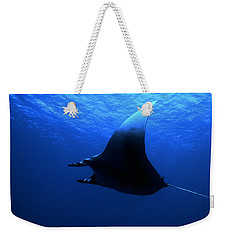 Manta Ray Weekender Tote Bag