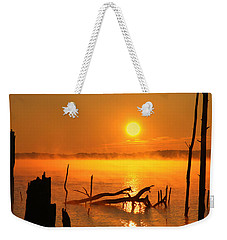 Mantis Sunrise Weekender Tote Bag