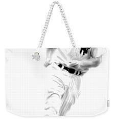 Mantles Gate  Mickey Mantle Weekender Tote Bag by Iconic Images Art Gallery David Pucciarelli