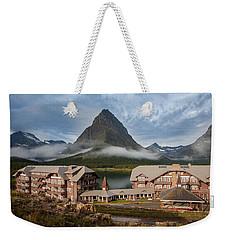 Many Glacier Hotel Weekender Tote Bag