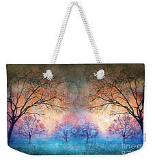 Many Moons Weekender Tote Bag by Tara Turner