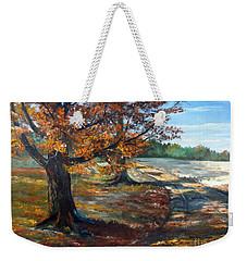 Maple Lane Weekender Tote Bag