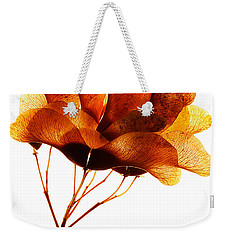 Maple Seed Pod Cluster Weekender Tote Bag
