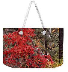 Maple Sycamore Pine Weekender Tote Bag