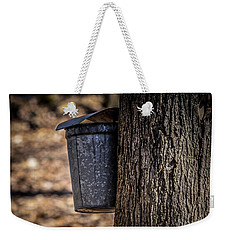 Maple Syrup Time Collecting Sap Weekender Tote Bag