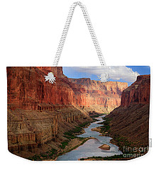 Marble Canyon - April Weekender Tote Bag by Inge Johnsson