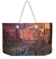 Marble Cliffs Weekender Tote Bag by Inge Johnsson