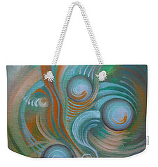 Marble Madness Weekender Tote Bag