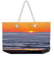 Marbled Godwits Reflecting A Sunset Weekender Tote Bag