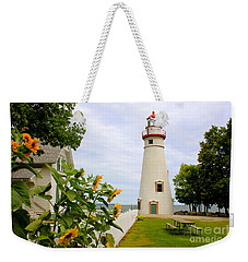 Weekender Tote Bag featuring the photograph Marblehead Lighthouse by The Art of Alice Terrill