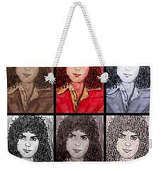 Marc Bolan Glam Rocker Collage Weekender Tote Bag