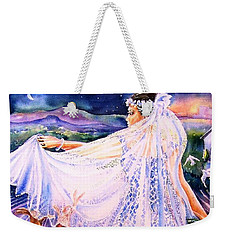 March Bride With Boxing Hares  Weekender Tote Bag