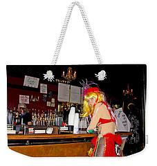 Mardi Gras Bar French Quarter Weekender Tote Bag by Luana K Perez