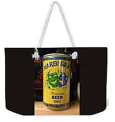 Mardi Gras Beer 1983 Weekender Tote Bag by Deborah Lacoste