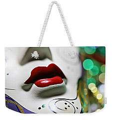 Mardi Gras II Weekender Tote Bag by Trish Mistric
