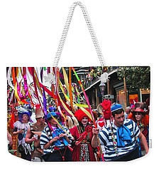 Mardi Gras In New Orleans Weekender Tote Bag by Luana K Perez