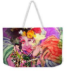 Mardi Gras Queen Weekender Tote Bag