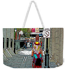 Mardi Gras In French Quarter Weekender Tote Bag by Luana K Perez