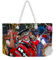 Mardi Gras Storyville Marching Group Weekender Tote Bag by Luana K Perez