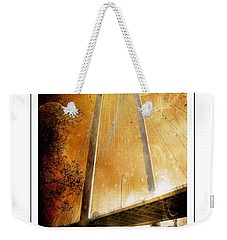 Margaret Hunt Hill Bridge Dallas Texas Weekender Tote Bag