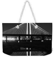 Margaret Hunt Hill Bridge Reflection Weekender Tote Bag
