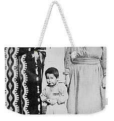 Weekender Tote Bag featuring the photograph Maria Martinez (1887-1980) by Granger