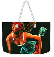 Maria Sharapova  Weekender Tote Bag by Paul Meijering